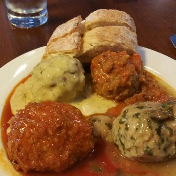 Photo of Mimi Blue Meatballs - Carmel, IN, United States. 4-Balls ($11 ...