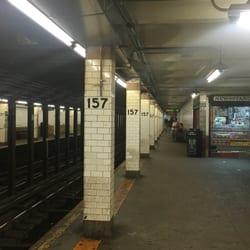 Mta 157th St Subway Station Metro Stations 157th St