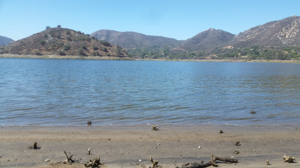 Can fish from the bank or boat yelp for Lake hodges fishing report