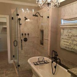 Photo Of Creative Luxury Showers   Spring, TX, United States. Beautiful  Corner Unit