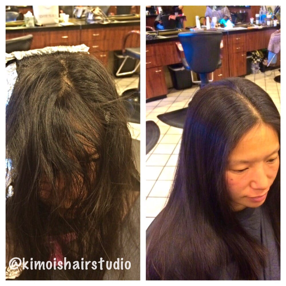 Best japanese straight perm - Photo Of Kimois Hair Studio Denver Co United States Japanese Straight Perm