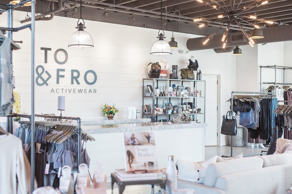 TO & FRO Activewear: 452 Ada Dr SE, Ada Township, MI