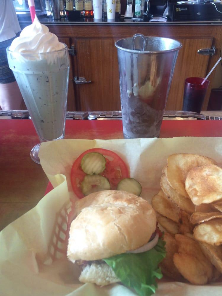 Doe Brothers Restaurant & Soda Fountain: 120 E Broadway St, Philipsburg, MT