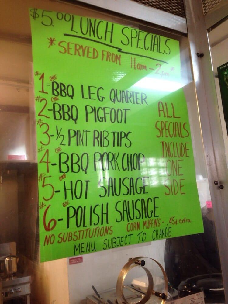 Aunt Bessie's BBQ Ribs and Soul: 1141 E Seven Mile Rd, Detroit, MI