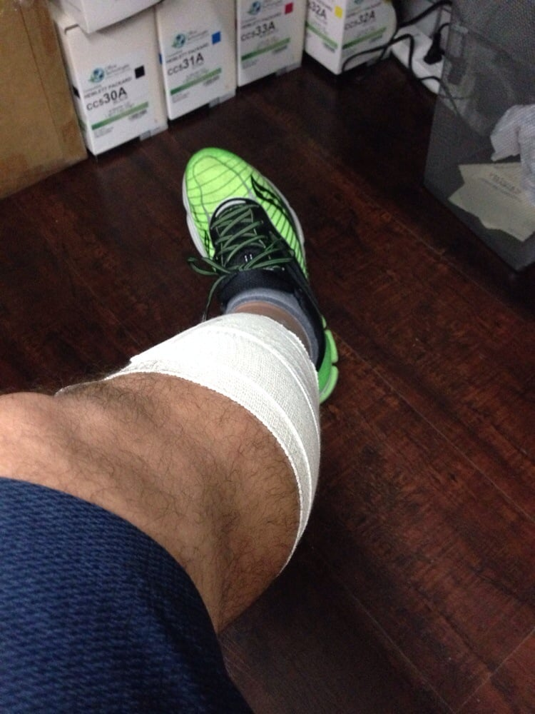 Crutches Gone Thanks Dr Ara Yelp