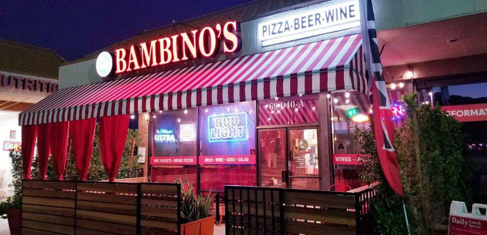 Pizzeria Bambinos: 69040 E Palm Canyon Dr, Cathedral City, CA
