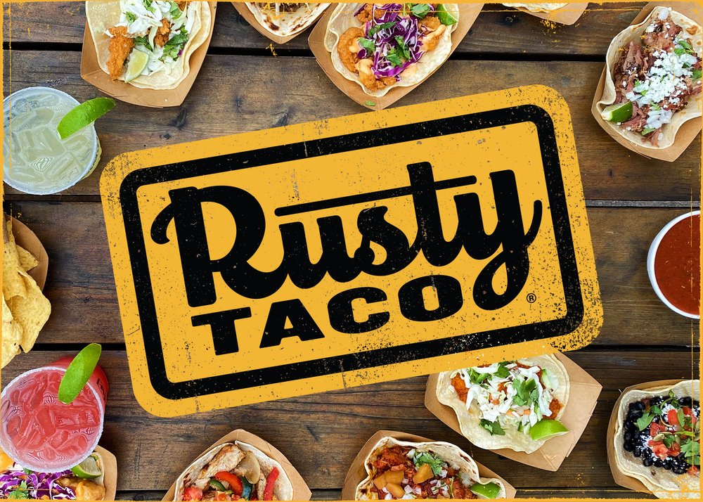 Food from Rusty Taco
