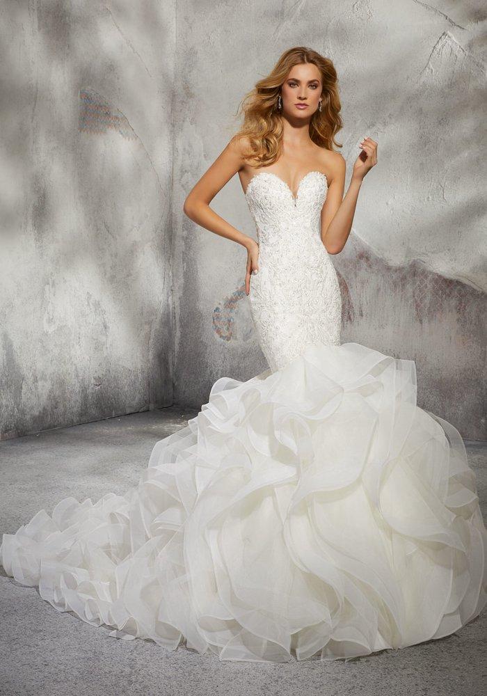 A Sexy Mermaid Wedding Dress Leona By Mori Lee Bridalsbyelena Yelp