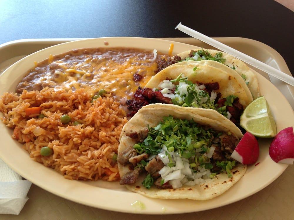 Tres Tacos Arroz Frijoles Yelp