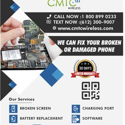 CMTC Wireless - Mobile Phone Repair - 920 E Lake St, Phillips
