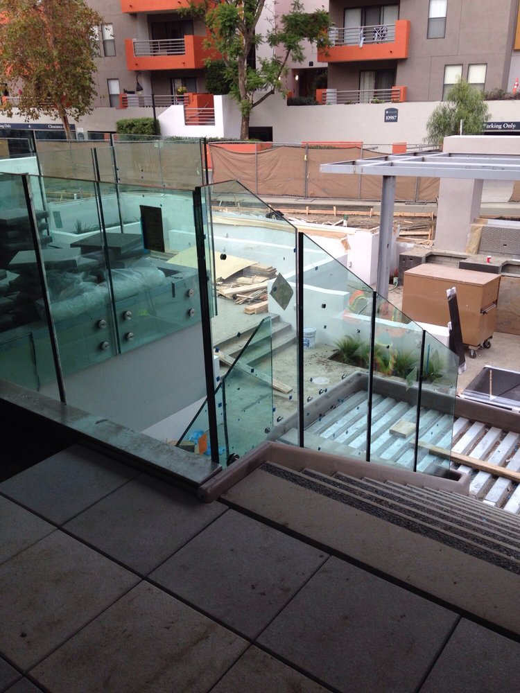 Job In Los Angeles Ca 1 Inch Clear Glas Temperd Laminated Glass Yelp