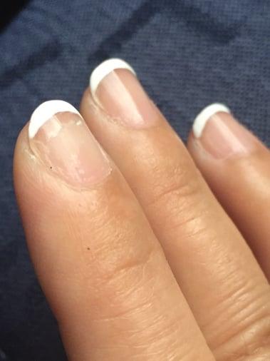 polish peels off in 3 days - Yelp