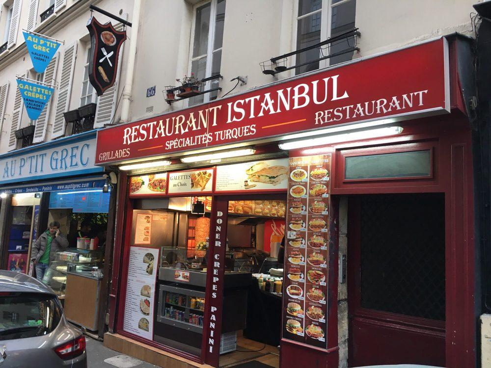 Restaurant Istanbul - Kebab - 66 rue Mouffetard, 5ème, Paris ...