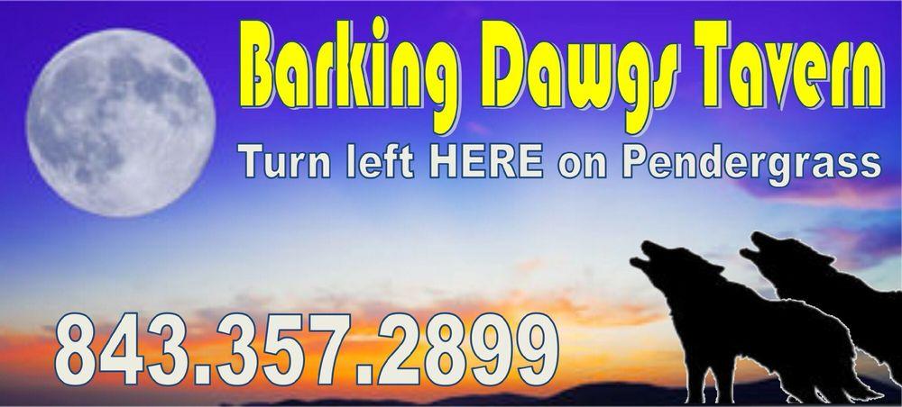 Barking Dawgs Tavern: 761 Pendergrass Ave, Murrells Inlet, SC