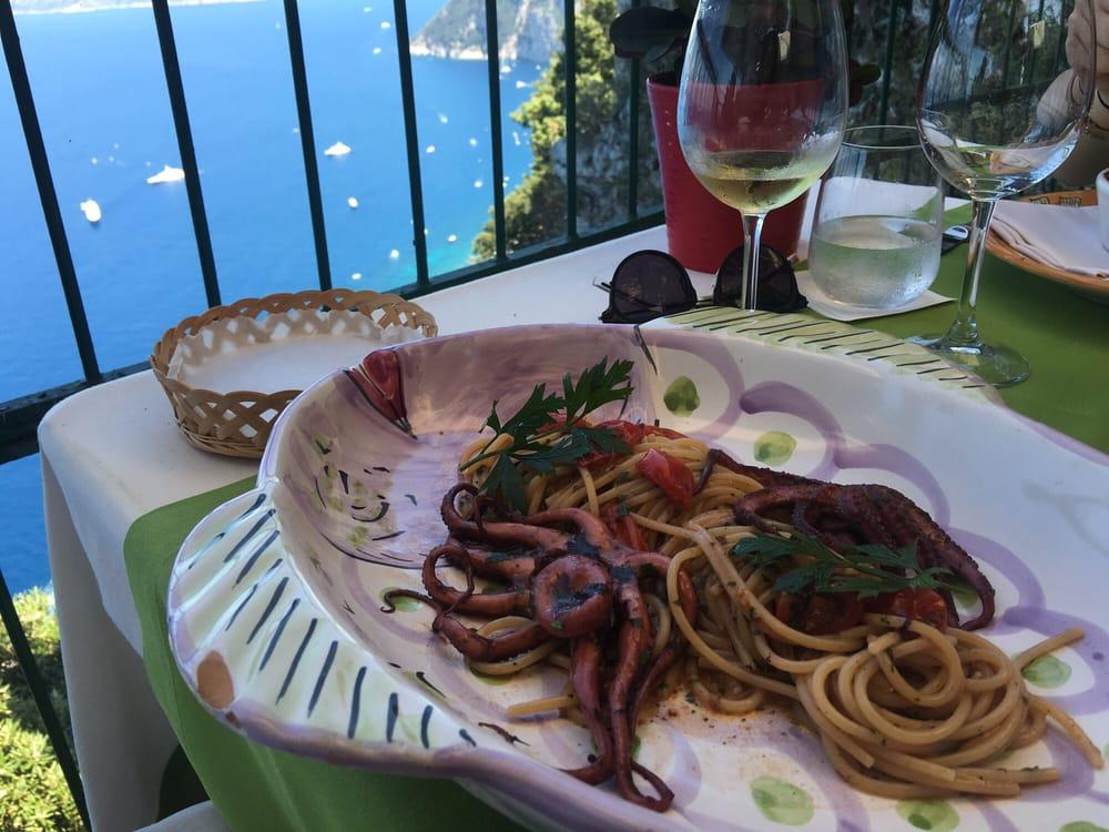 Best Fresh Octopus So Far In Capri Recommend The Octopus