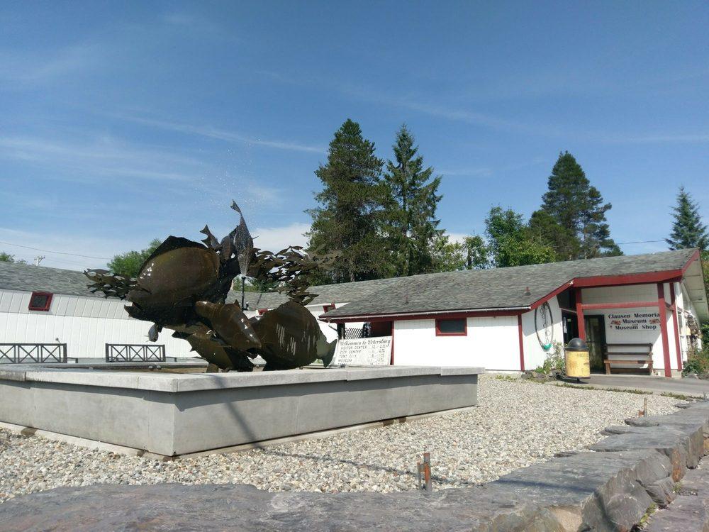 Clausen Museum: 201 Fram St, Petersburg, AK
