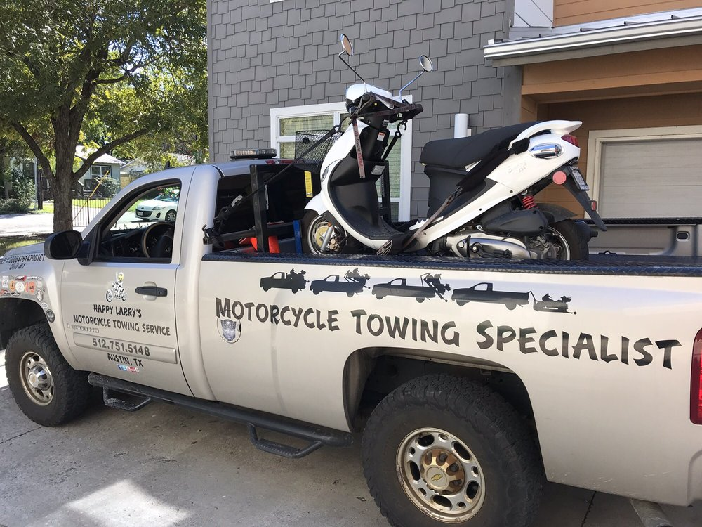 Happy Larry's Motorcycle Towing