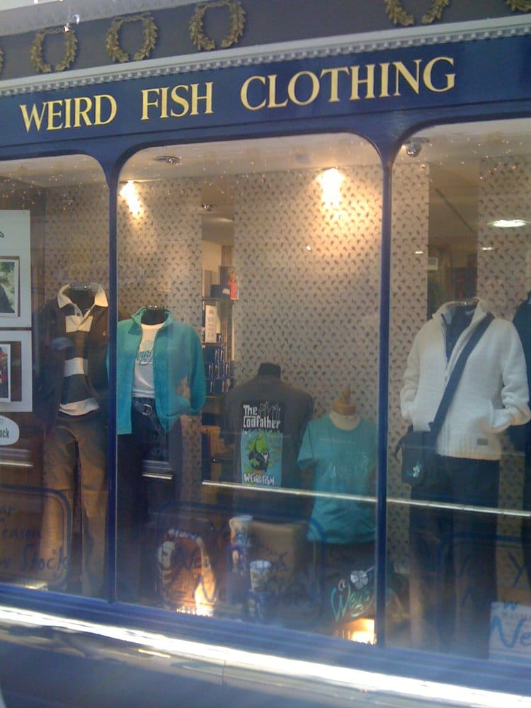 Weird Fish Clothing - Fashion - 7 The Corridor, Bath ...