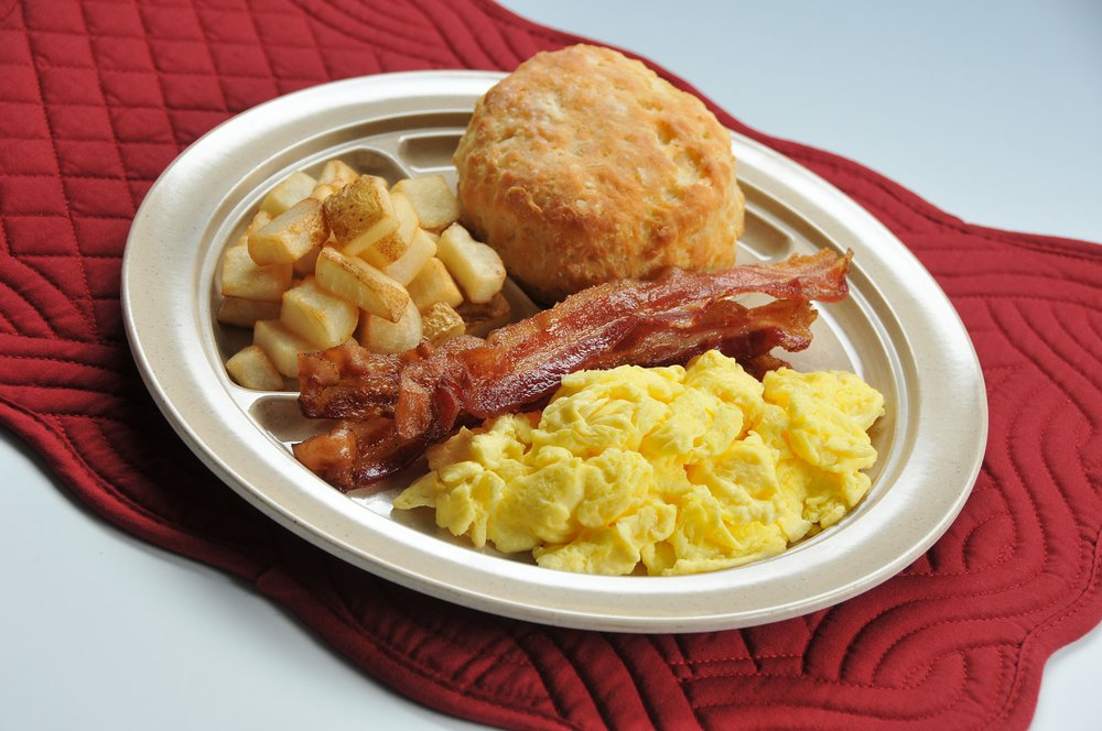 Food from Tudor's Biscuit World