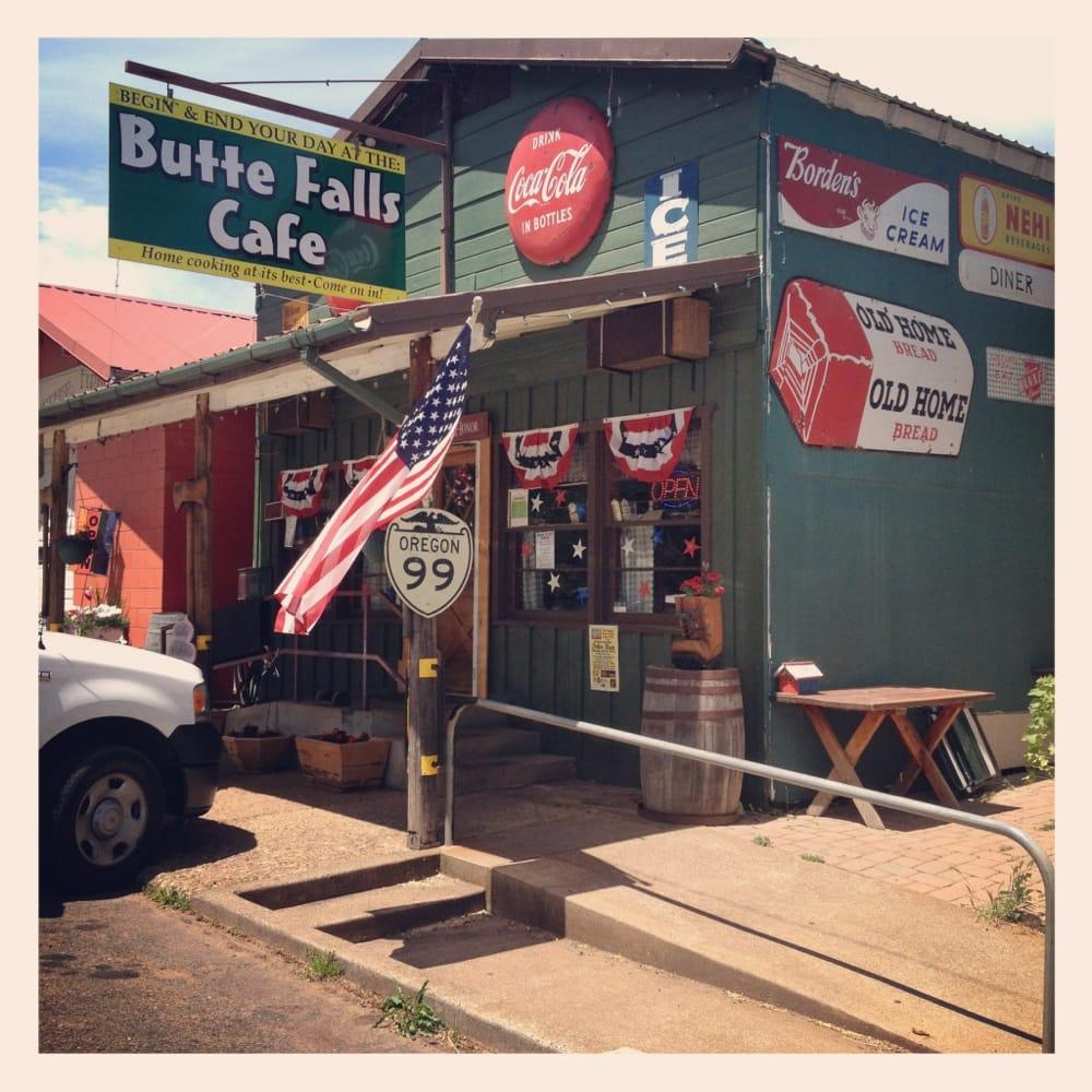 Butte Falls Cafe': 443 Broad St, Butte Falls, OR