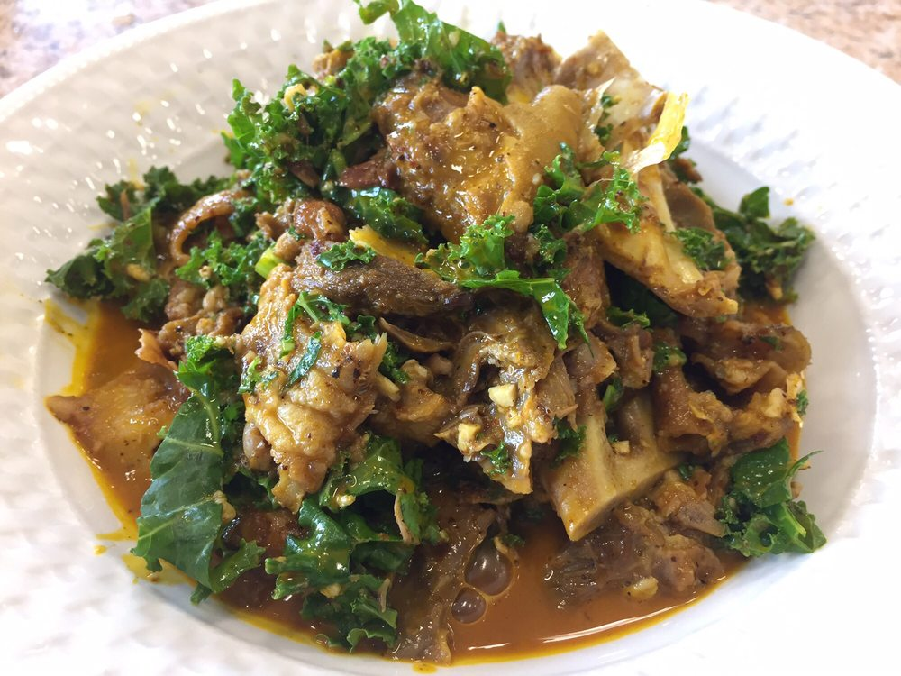 Isiewu - Goat Head curry  !! One of the best things i've