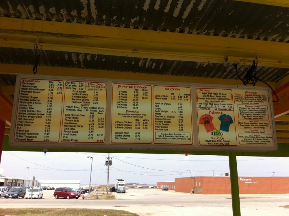Stan's Drive-In: 1614 Main St, Osage, IA