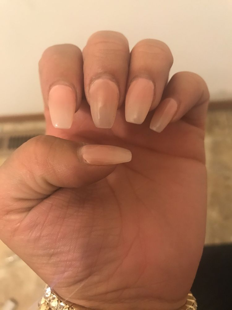 I came in for my first time on Tuesday and my nails are already ...