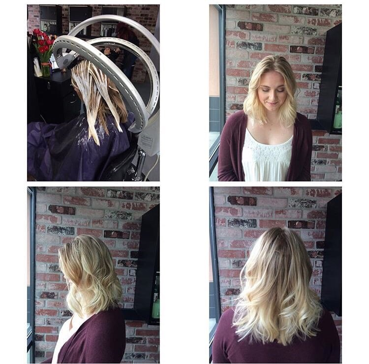 Haircut And Baliyage Created By Our Senior Hairstylist Amy Wilson