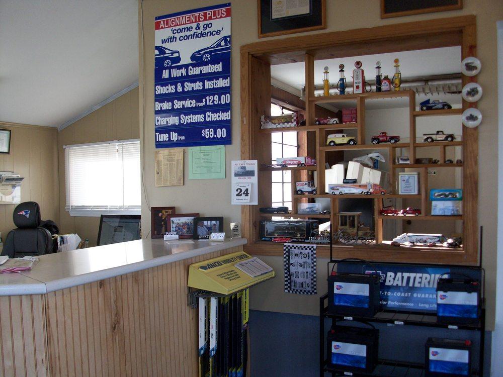 Alignments Plus Auto Repair: 63 Enterprise Rd, Hyannis, MA