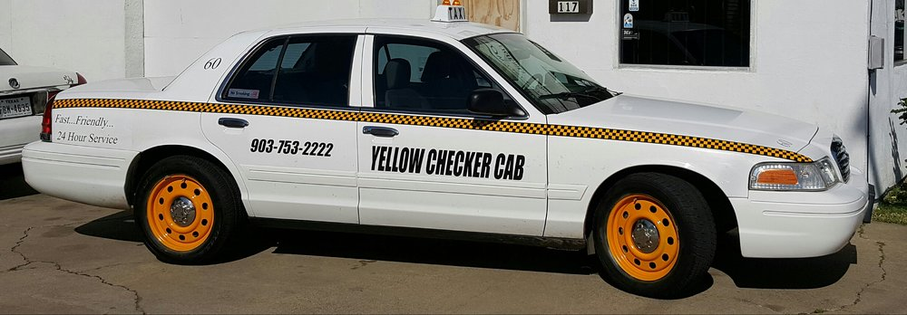 Yellow Checker Cab: 903 Memphis St, Longview, TX