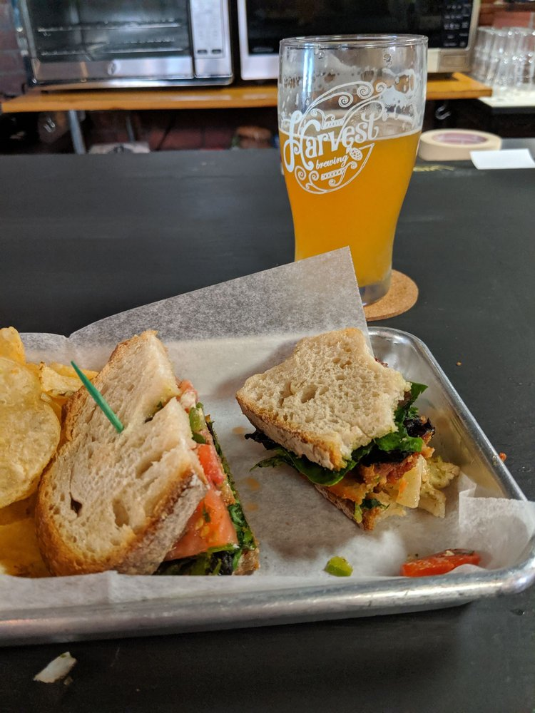 Food from Harvest Brewing