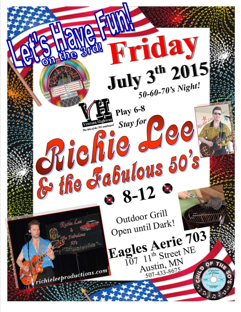 Eagles Club: 107 11th St NE, Austin, MN