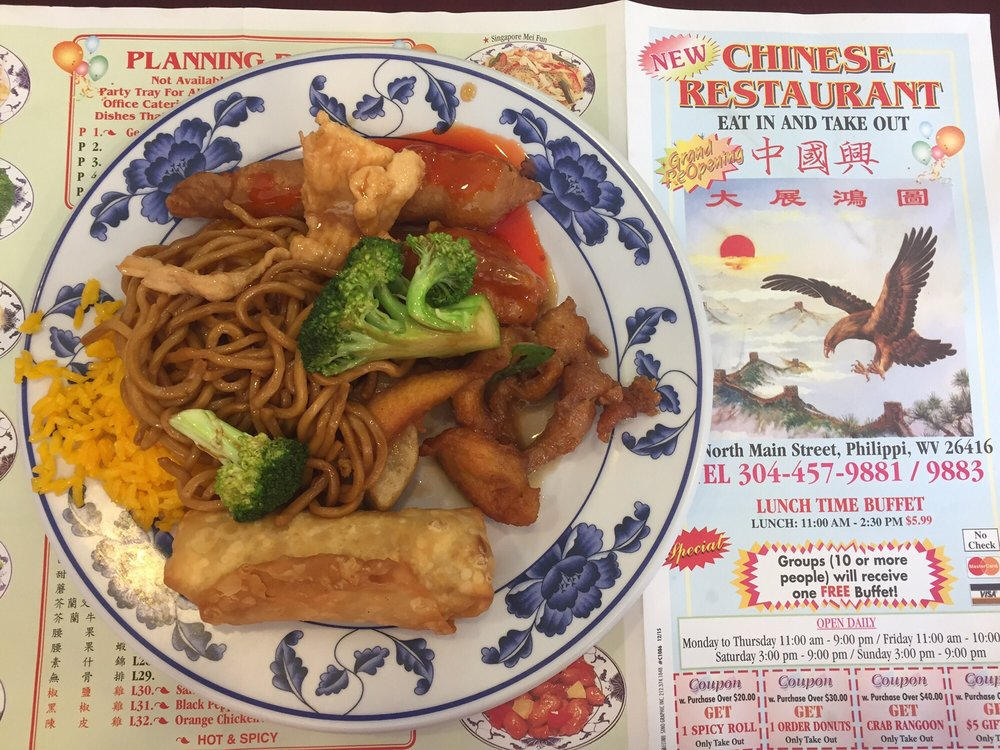 Food from Chinese Restaurant