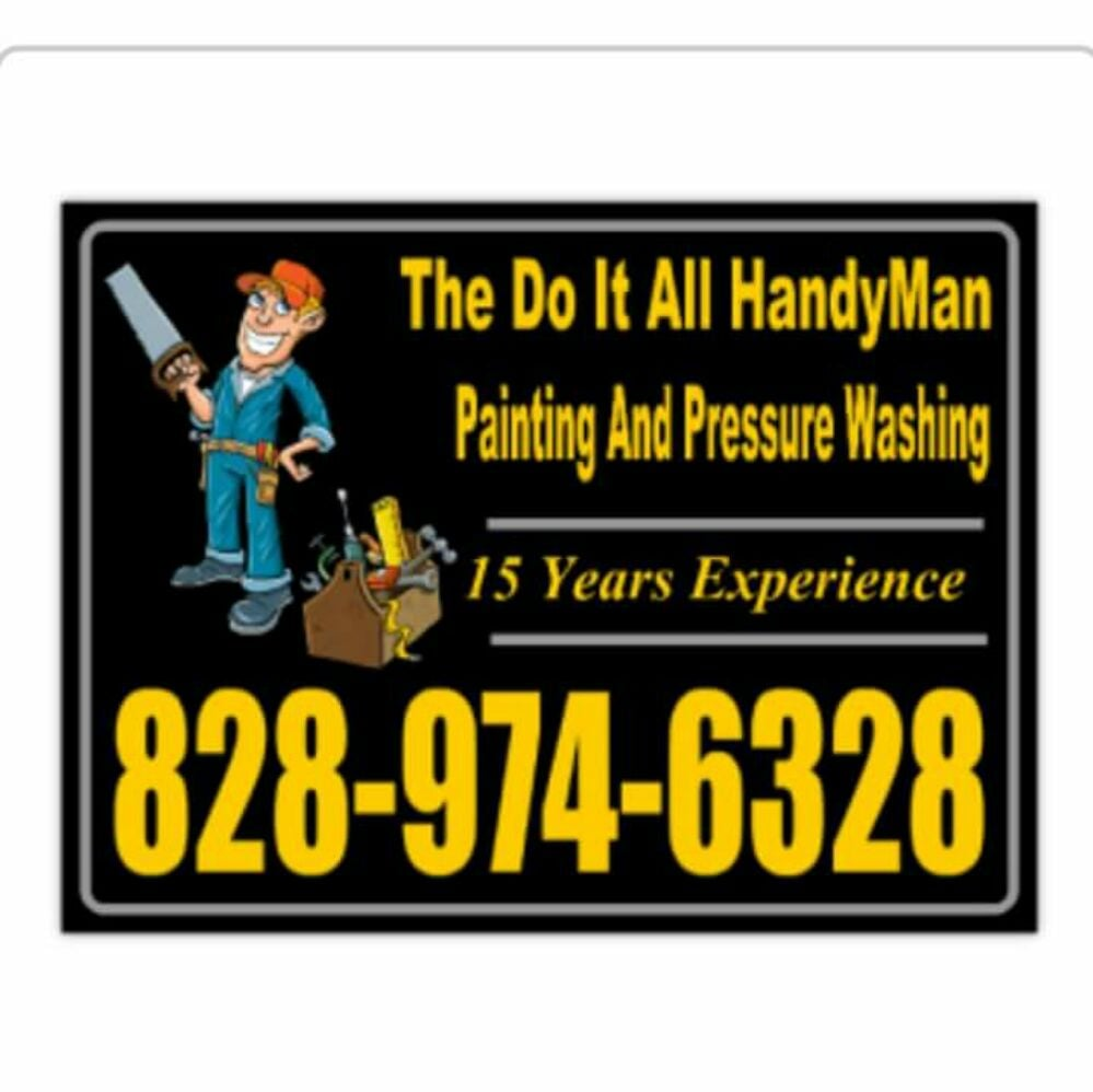 The Do It All Handyman Painting And Pressure Washing: 12 Paradise Ridge Rd, Candler, NC