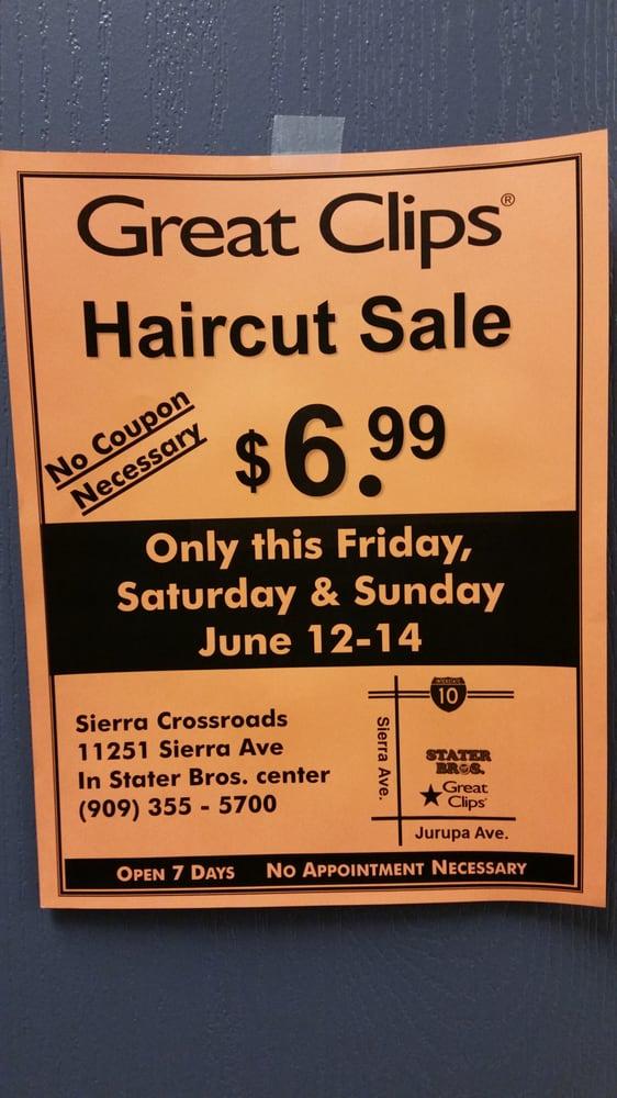 Great Clips 38 Reviews Hair Salons 11251 Sierra Ave Fontana