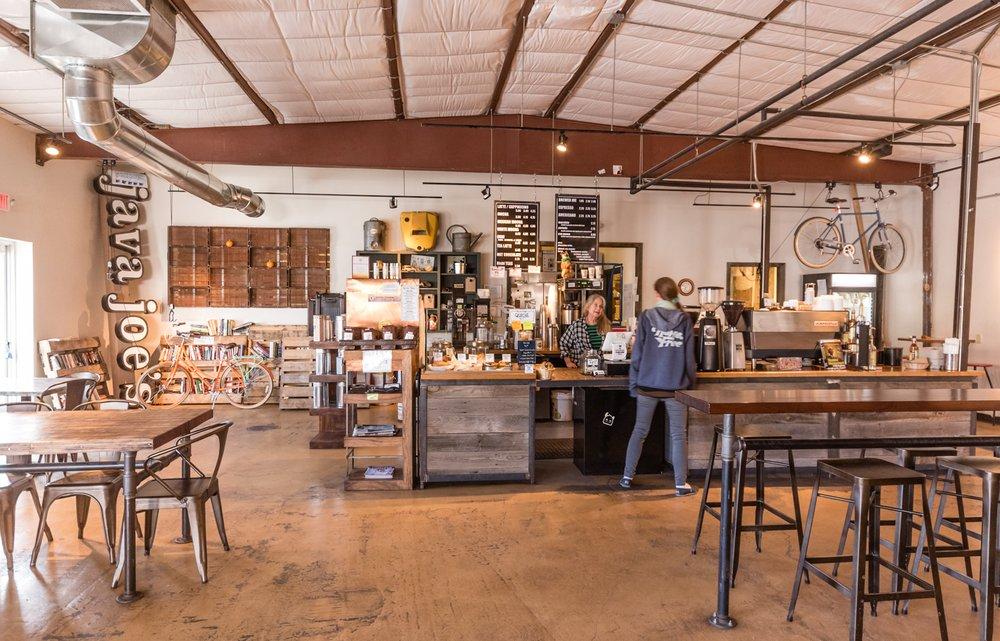 Java Joe's & Groovy Bean Coffee Roasters: 1248 Siler Rd, Santa Fe, NM