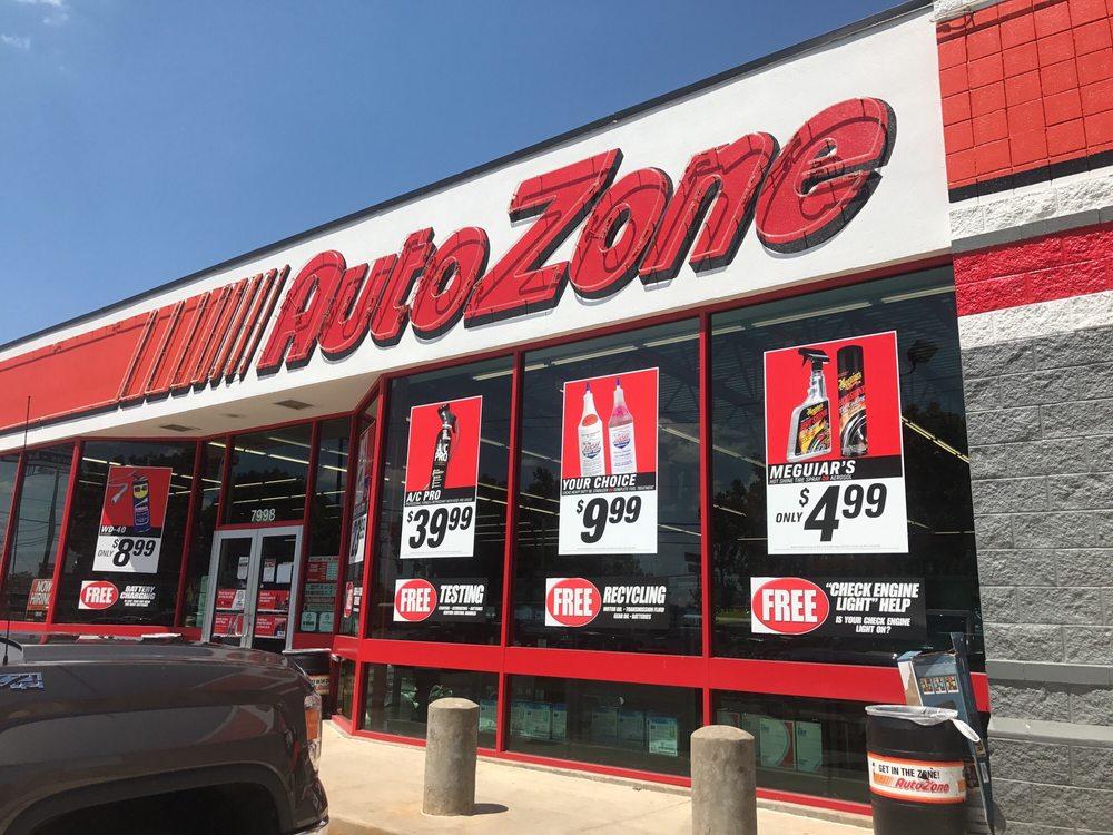 AutoZone: 7998 Bandera Rd, San Antonio, TX