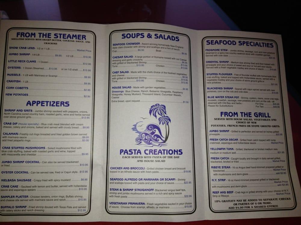Photos for fish house restaurant menu yelp for Fish house menu