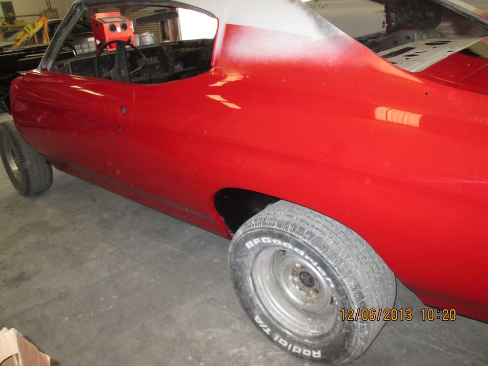 1970 Chevelle SS full rotisserie style restoration, where the frame ...