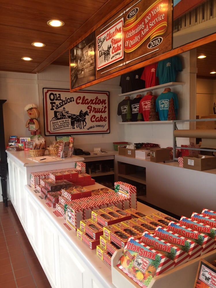 Claxton Fruit Cake: 203 W Main St, Claxton, GA