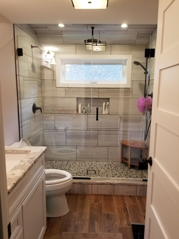 Warren Ri Garage Conversion Custom Bath Master Bedroom And