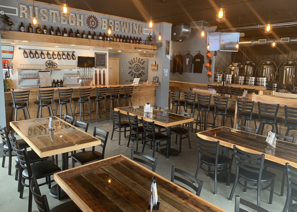 Rustech Brewing: 105 W 3rd St, Monticello, MN