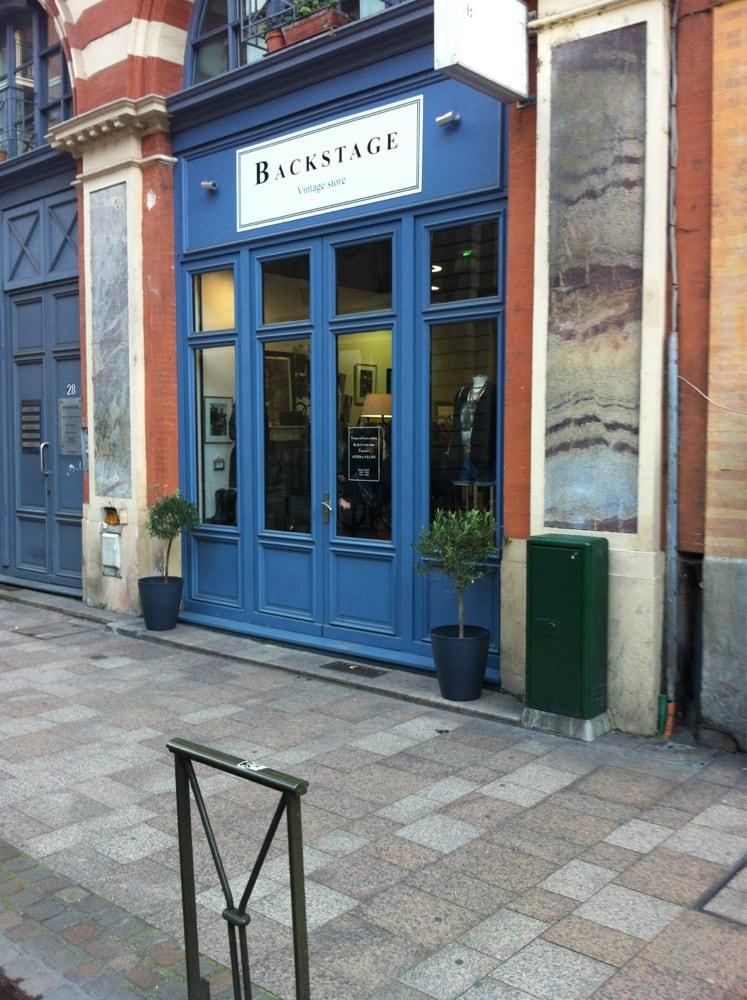 Backstage vintage store friperies v tements vintage et d p ts vente 28 rue des marchands - Depot vente meuble toulouse ...