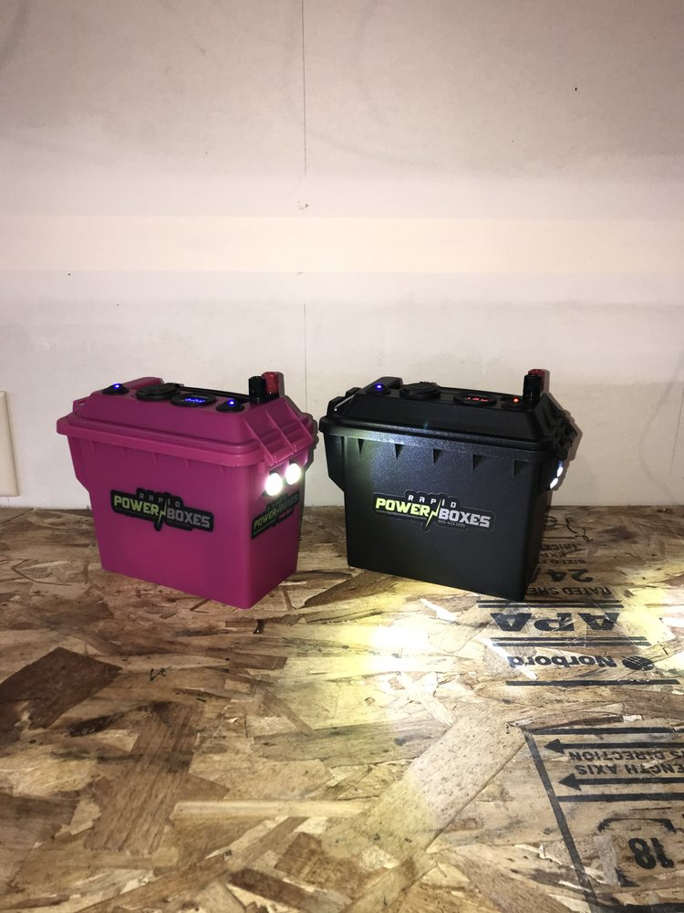 Rapid Power Boxes: Lead, SD
