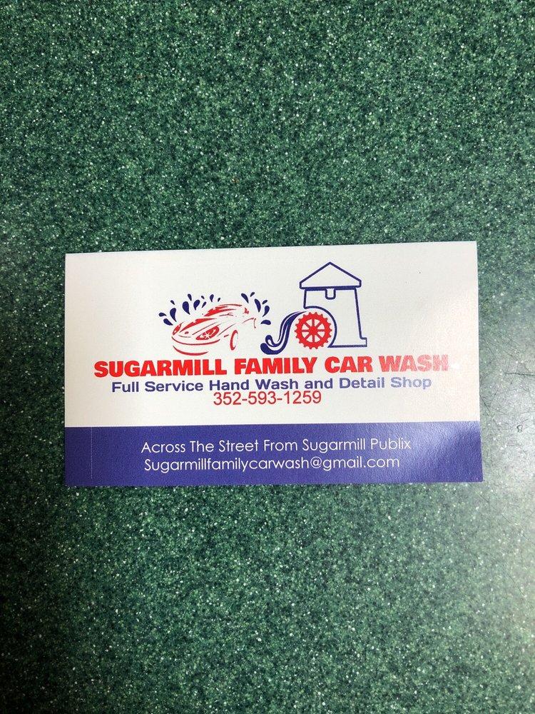 Sugarmill Family Car Wash: 9472 S Suncoast Blvd, Homosassa, FL