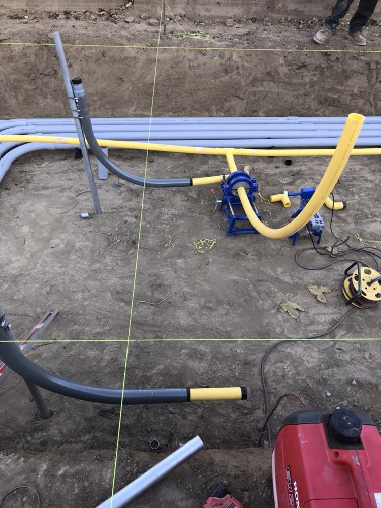 Industrial gas line install - Yelp