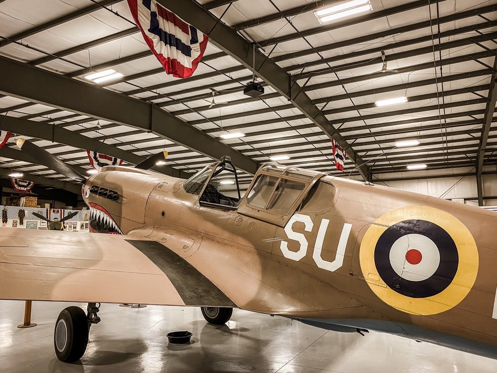 Social Spots from Warhawk Air Museum