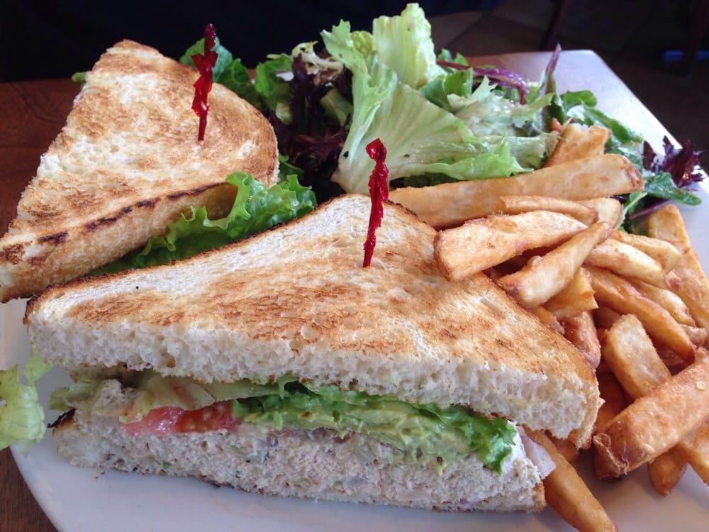 Aninimal Book: Mendocino tuna sandwich, fries, and salad. - Yelp