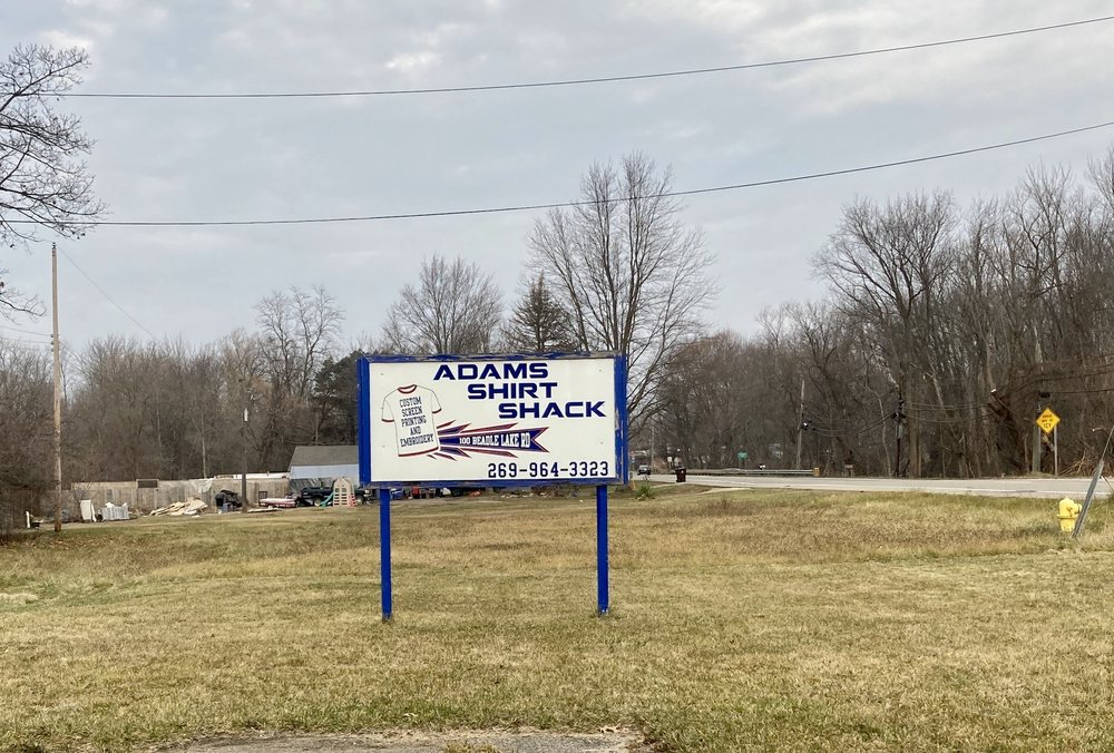 Adams Shirt Shack: 100 Beadle Lake Rd, Battle Creek, MI