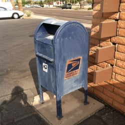 U S Postal Service Drop Box Shipping Centers 1256 W Chandler